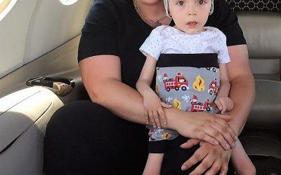 Unterstützung für schwer erkrankte Kinder mit Flying Hope