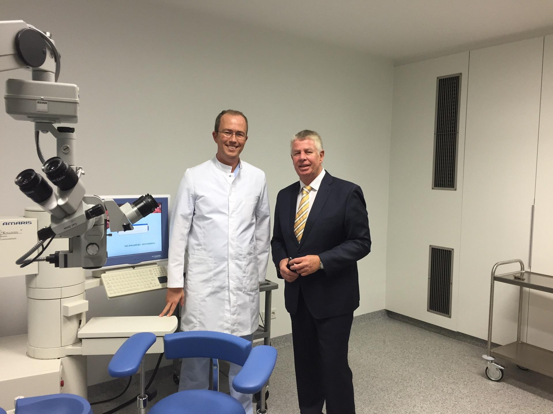 Dr. Werner und Michael Kissel