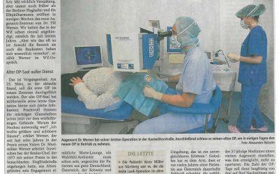 Wormser Zeitung berichtet über Neubau von Augenarzt-Zentrum