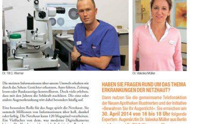 Dr. Till C. Werner Telefonexperte der Zeitschrift Neue Apotheken Illustrierte