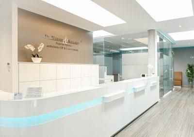 Empfang Augenarztpraxis Worms