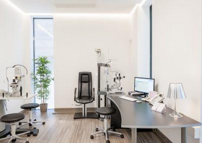Behandlungszimmer Augenarztpraxis Worms