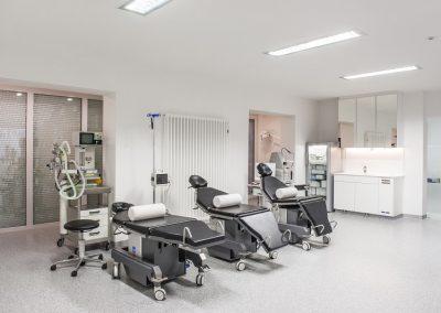 Vorbereitungsbereich der Anästhesie
