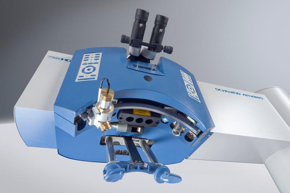 SCHWIND AMARIS Laser Partikelabtragung