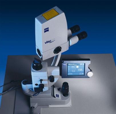 Zeiss VISULAS YAG Laser Aufsicht