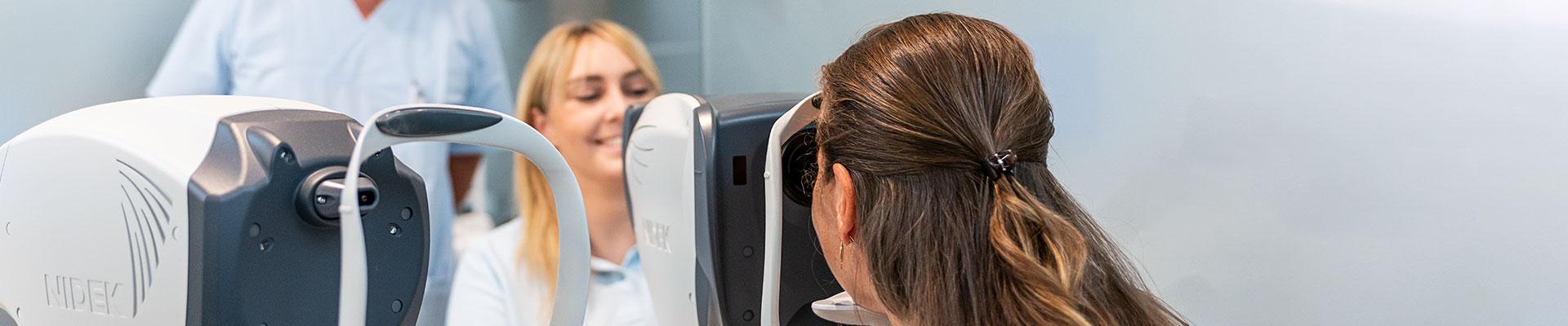 Leistungen Augenarzt